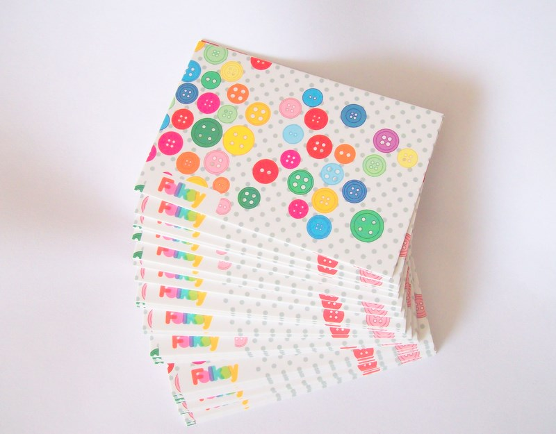 Sewing is for girls: Free Moo Business Cards from Folksy
