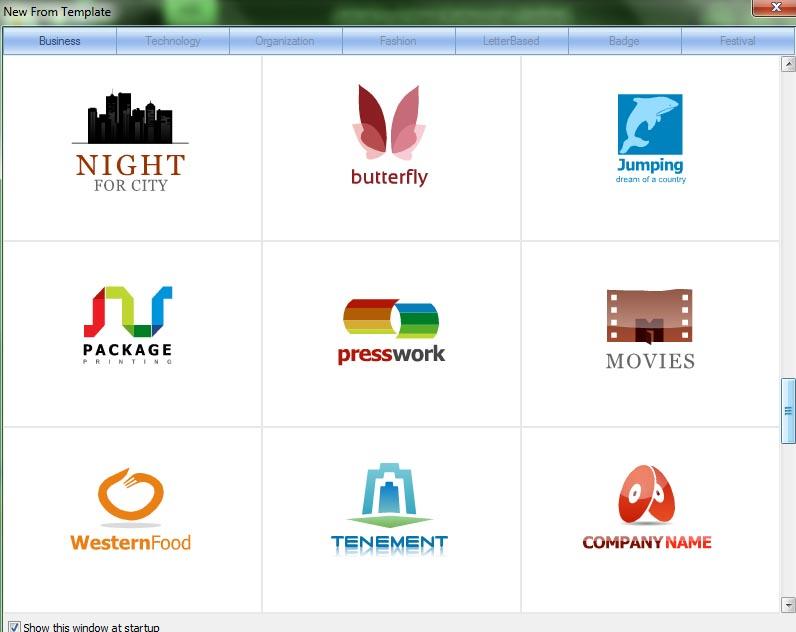 Jika anda tertarik untuk menggunakan software pembuat logo ini, anda
