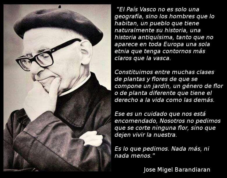 PENSAMIENTOS - P. JOSÉ MIGUEL DE BARANDIARAN