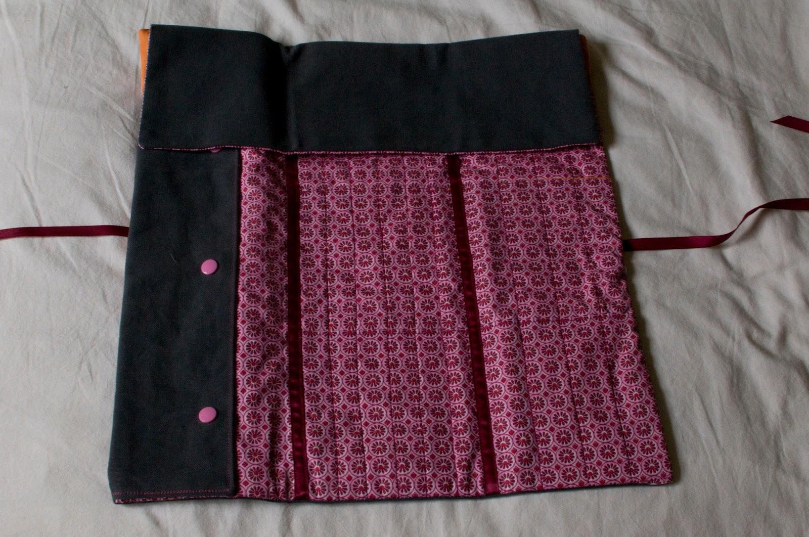 Blog couture tricot mamzelle angele pochette de rangement for Aiguille a couture