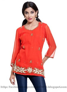 Embroidered-kurtis