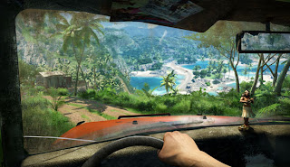 Driving in Far Cry 3