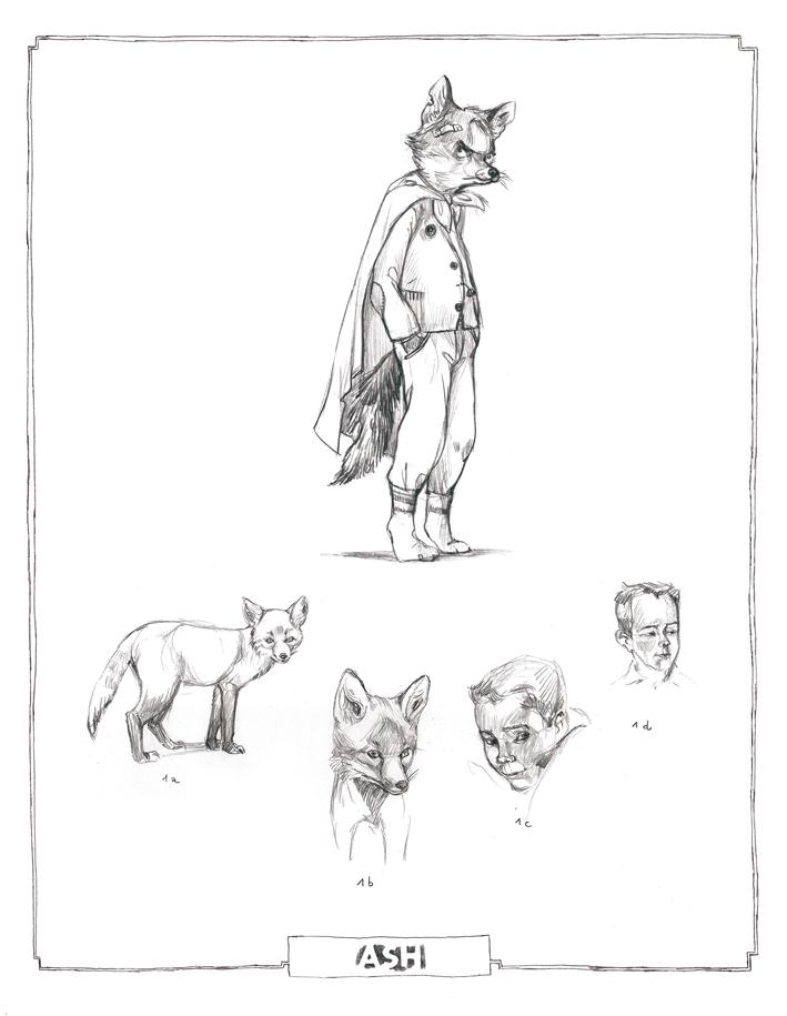 Character Design Spot : Sacha s first year concept art