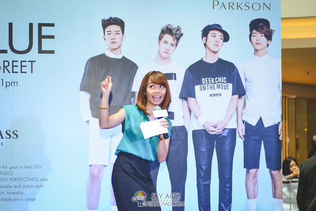 Nadia Nash - The emcee for CNBLUE x THE CLASS MEET AND GREET