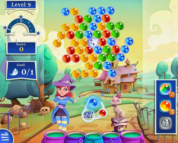 Jogo Bubble Witch 2 Saga Facebook