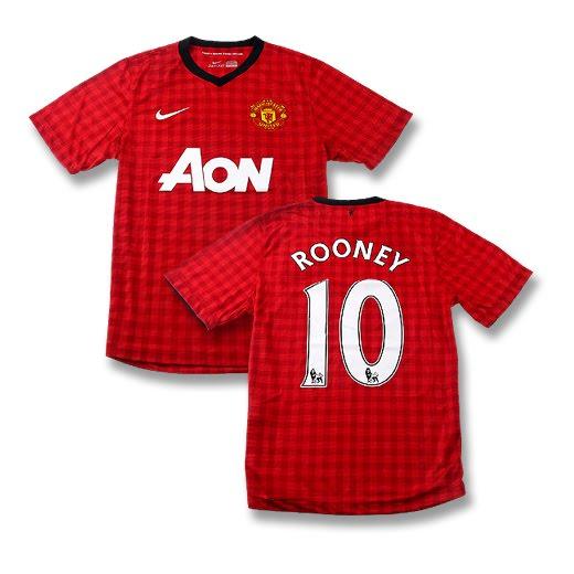 Wayne Rooney Jersey Number