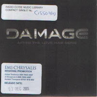 Damage - After The Love Has Gone (Promo CDS) (2001)