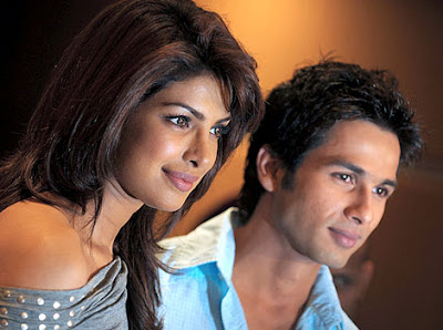 Shahid Kapoor wants Priyanka Chopra