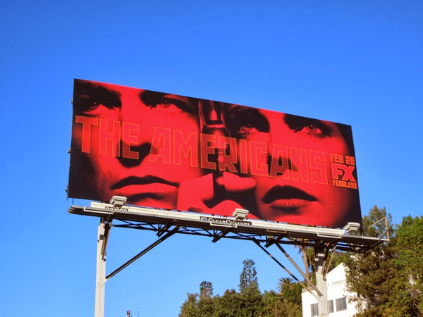 The Americans season 2 billboard