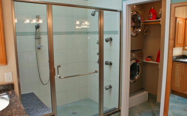 Small Bathrooms With Washer And Dryer