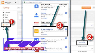 cara menambah peta lokasi pemilik blog di sidebar