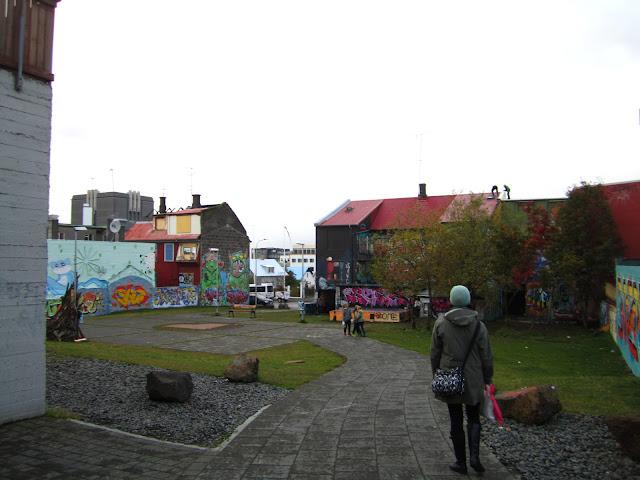 Graffiti in Reykjavik, Iceland.