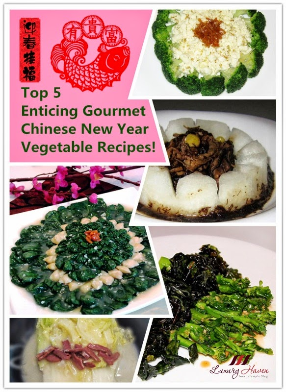enticing gourmet healthy lunar new year vegetable recipes