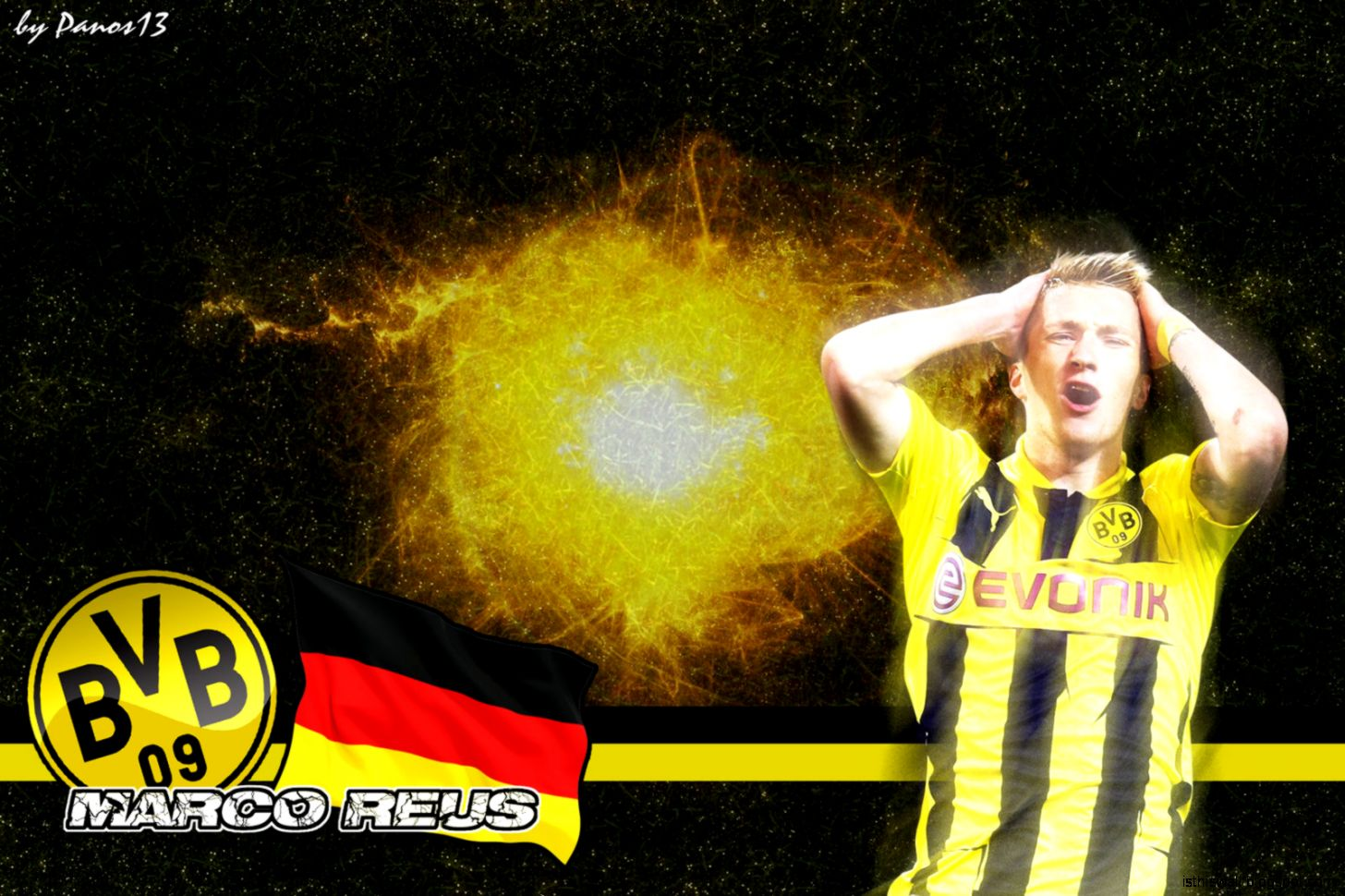 DeviantArt More Like Marco Reus Wallpaper by sametklyc