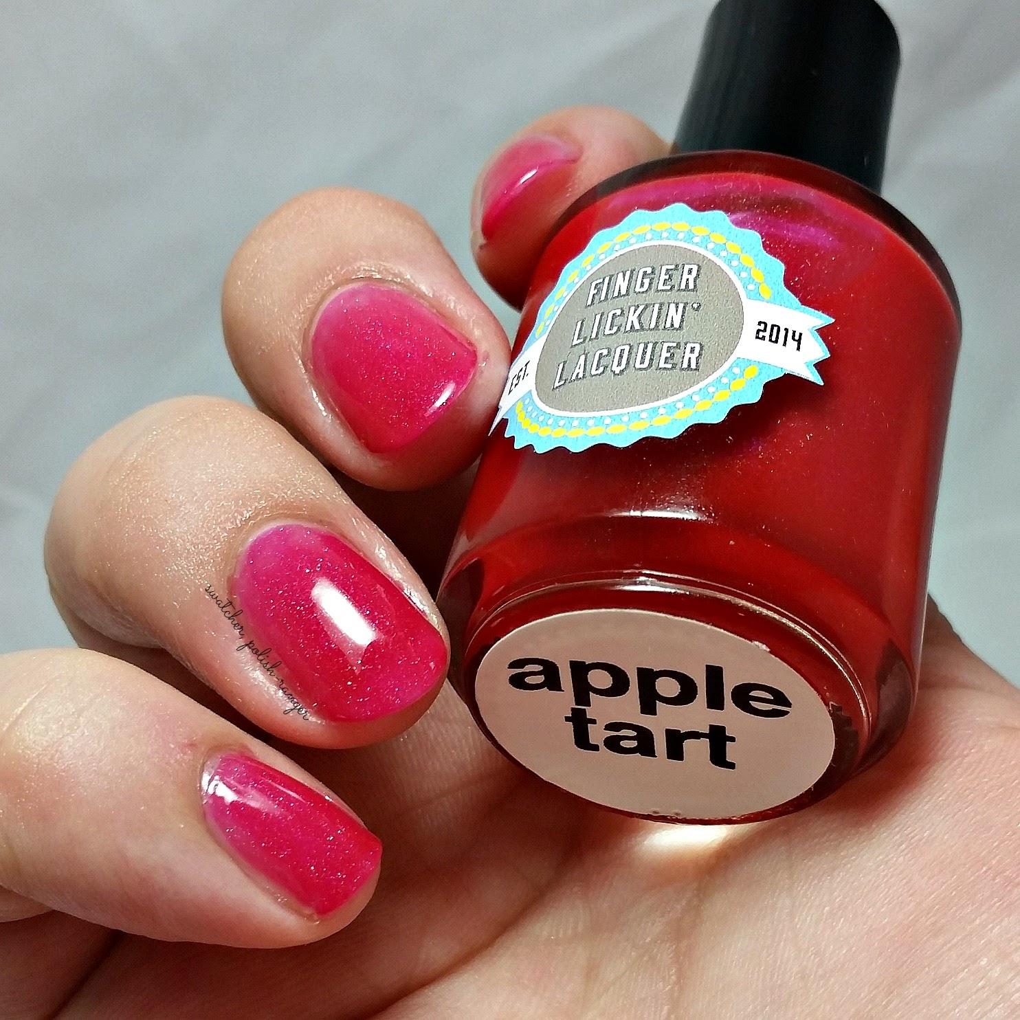 Finger Lickin' Lacquer Apple Tart swatch