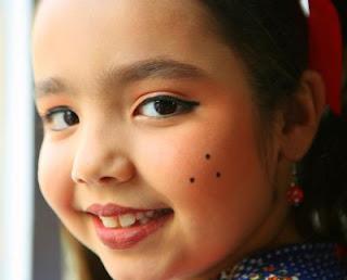 Maquiagem de Festas Juninas, para meninas - Dicas - Vídeo