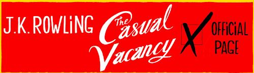 Páginas de J.K. Rowling e de 'The Casual Vacancy' são criadas no Facebook | Ordem da Fênix Brasileira