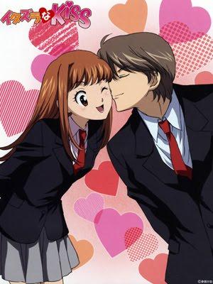 Portada de Itazura na Kiss (Anime)