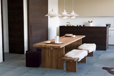 Decora el hogar ideas de dise o de comedores modernos for Disenos de comedores de madera modernos