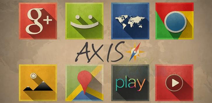 ANDROID Axis - GO Apex Nova Theme ,Axis - GO Apex Nova Theme APK