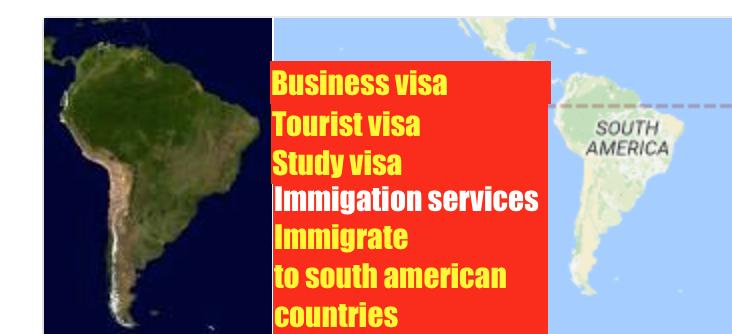 Study in South america- Study visa service in  chandigarh