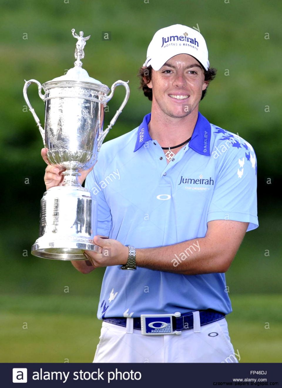 Rory Mcilroy Of Northern Ireland Holds The  Championship