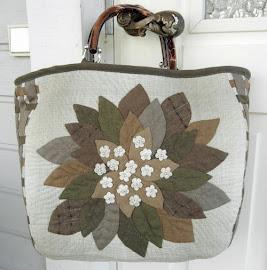 Японские сумки из лоскутов с выкройками.  Japanese patchwork bags.