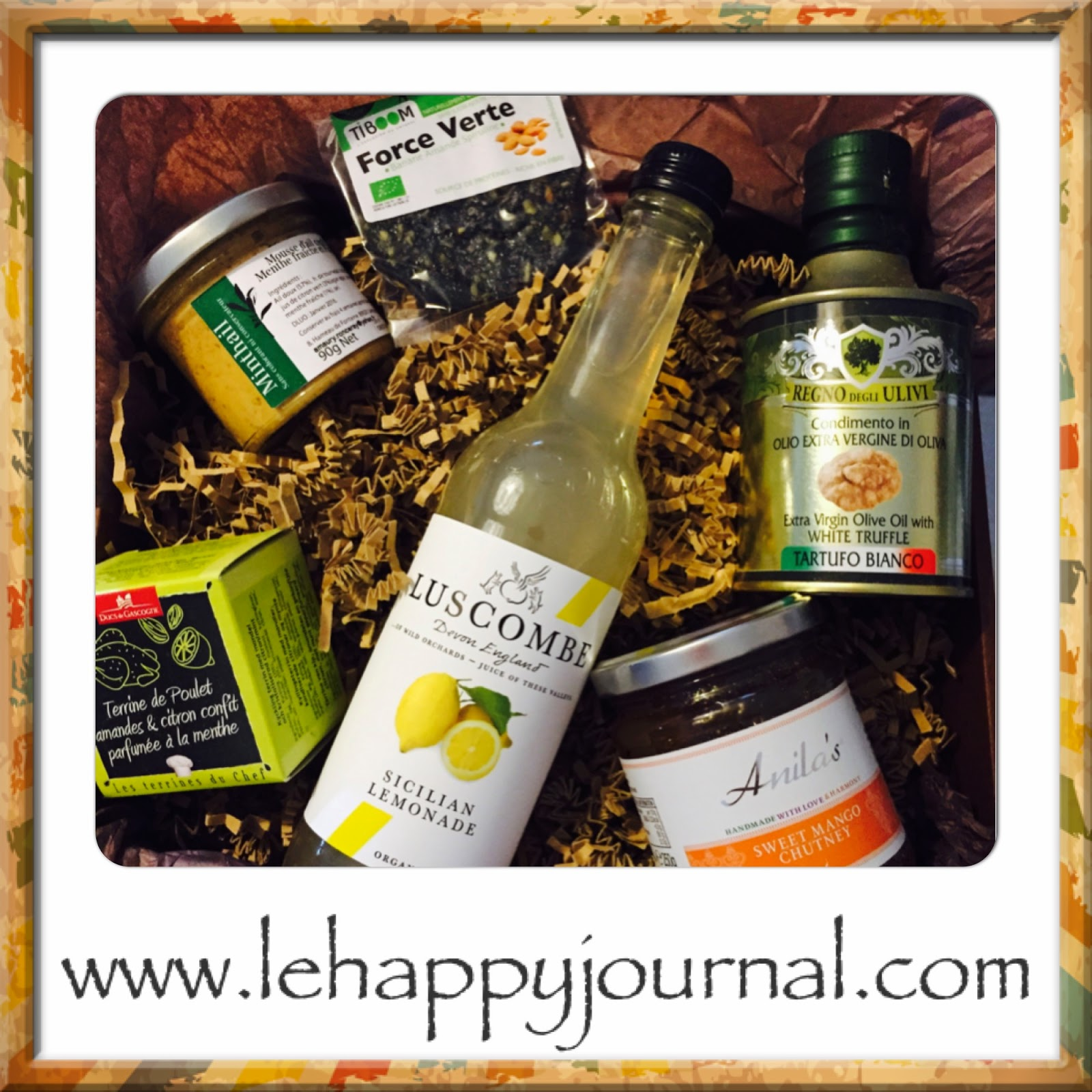gourmibox, gourmand, gastronomie, box, partenaire, happy journal