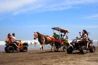 ATV dan Bendi di Pantai Parangtritis