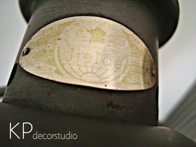 Lámparas marca JIELDE autenticas traidas de Francia estilo industrial