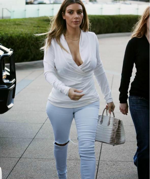 Kim Kardashian dirige todas las miradas