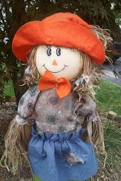 I Finally Put Up My Scarecrow Today