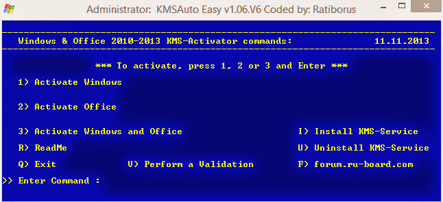 How to Activate WIndows 8.1 by KMS