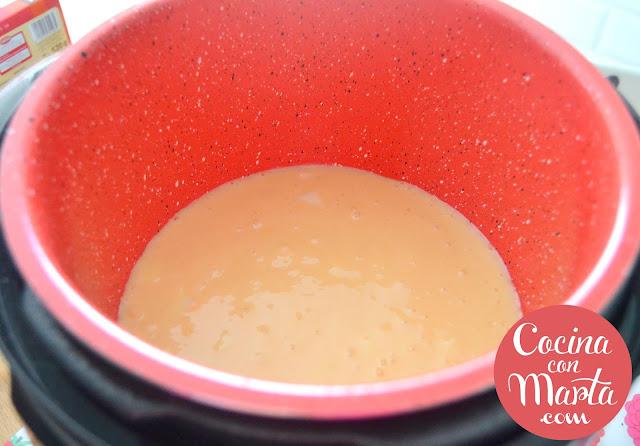Receta bizcocho casero de yogur, vasitos, Olla GM, limón, Cocina con Marta, casero, fácil, rápido, siempre, tradicional