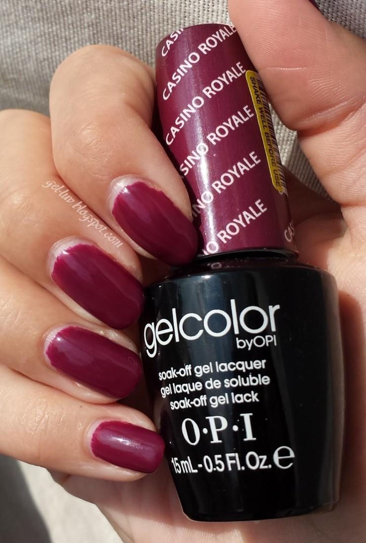 Gel-Luv: A GEL Polish Blog!: Fall-Ready with OPI Gelcolor \