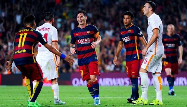Roma vs Barcelona en vivo