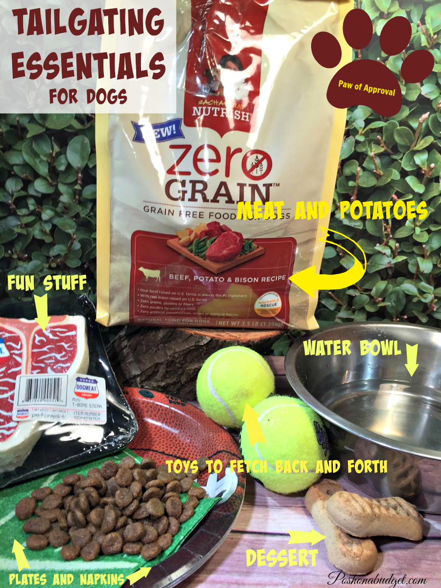 What to Pack for a 'Tail'gate #NutrishZeroGrain #sp @Nutrish