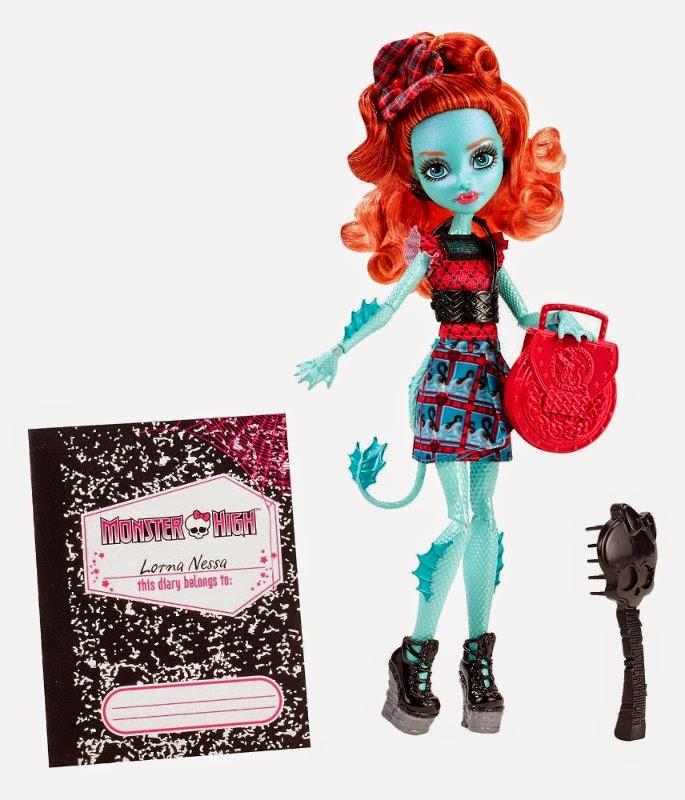 JUGUETES - MONSTER HIGH : Monster Exchange  Lorna McNessie | Muñeca  Producto Oficial 2015 | Mattel | A partir de 6 años