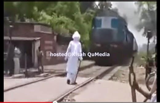 Misteri Lelaki Tua Menghadang Keretapi Jadi Viral