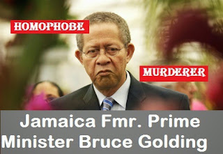from Jerome bruce golding anti gay
