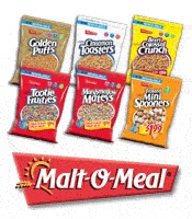 Malt-O-Meal $1 Cereal Sale to Benefit United Way