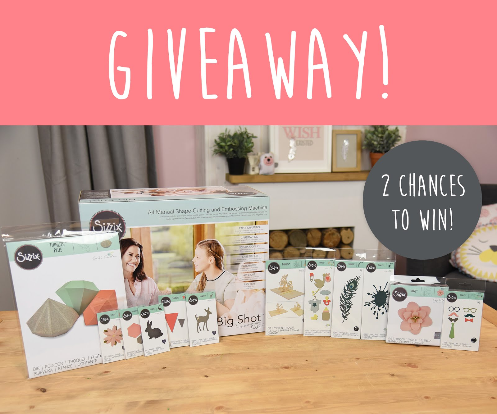 Giveaway from Sizzix до 14/07