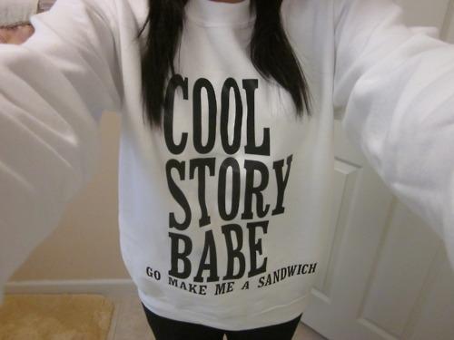 Cool Story Babe - Go Make Me A Sandwich