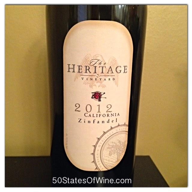 Heritage Vineyard 2012 Zinfandel