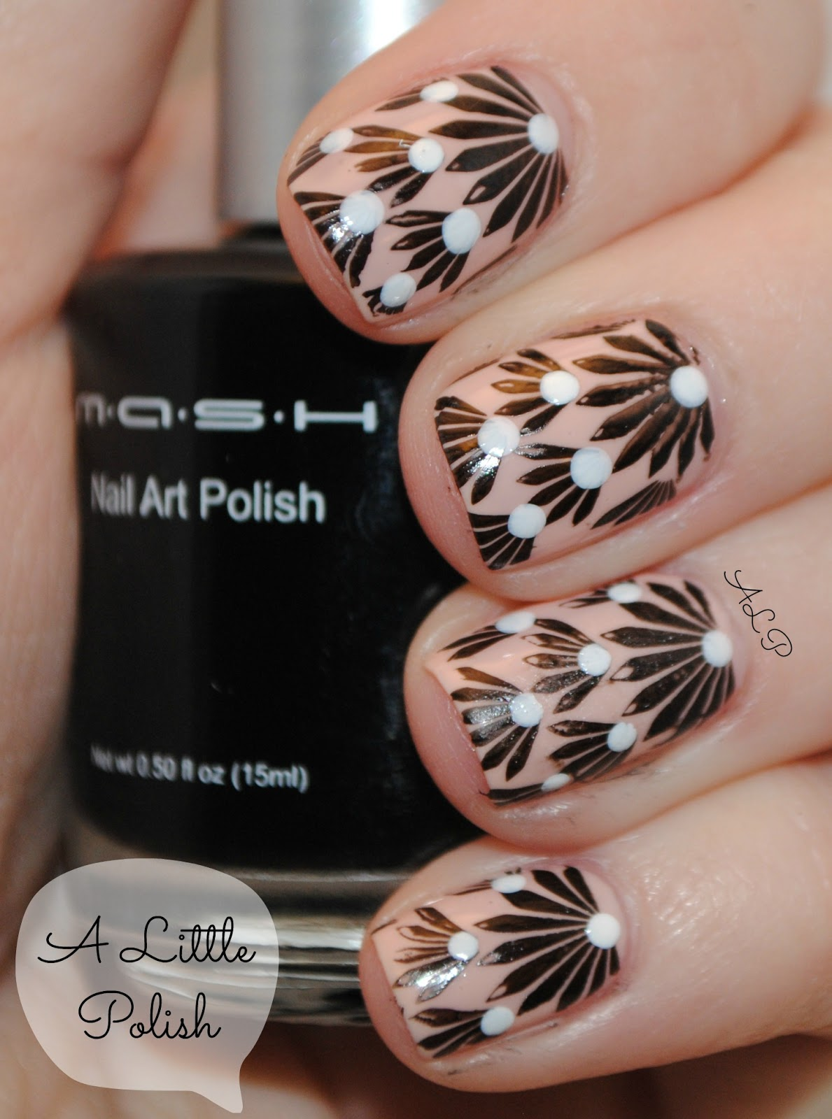 A Little Polish: MASH Nail Art Image Plate Set (26-50) - Review