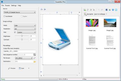 Scanitto Pro Full Scanner Software