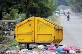 Kota Merauke Kekurangan Kontainer Sampah
