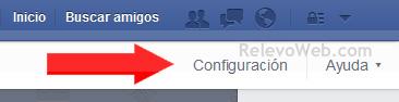 Configuración de fanpage de Facebook
