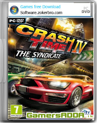 Crash Time 4 The Syndicate PC Game Full Version Portable