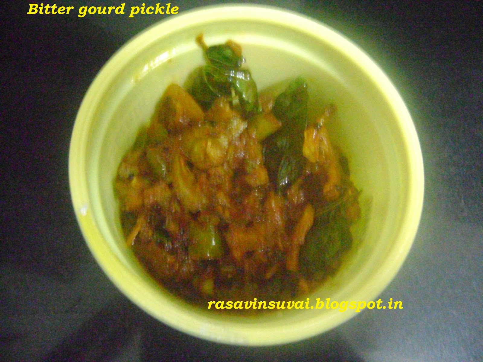 how to make karela achar